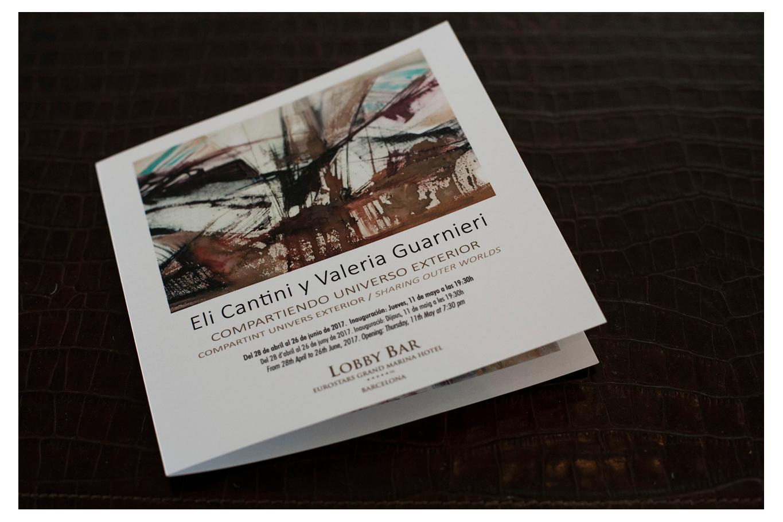"""Muestra """"Compartiendo universo exterior"""" – Eli Cantini – Valeria Guarnieri – Eurostars Grand Marina – Barcelona"""